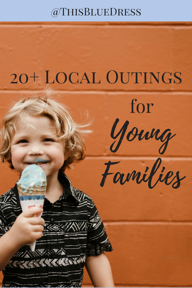 20+ Local Outings for Young Families #outings #familyfun #kids