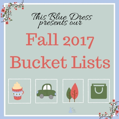Fall Bucket List from This Blue Dress