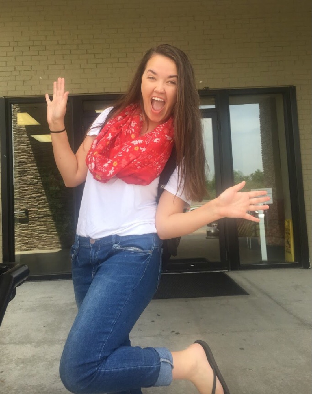 Madison celebrates last day of community college on steps