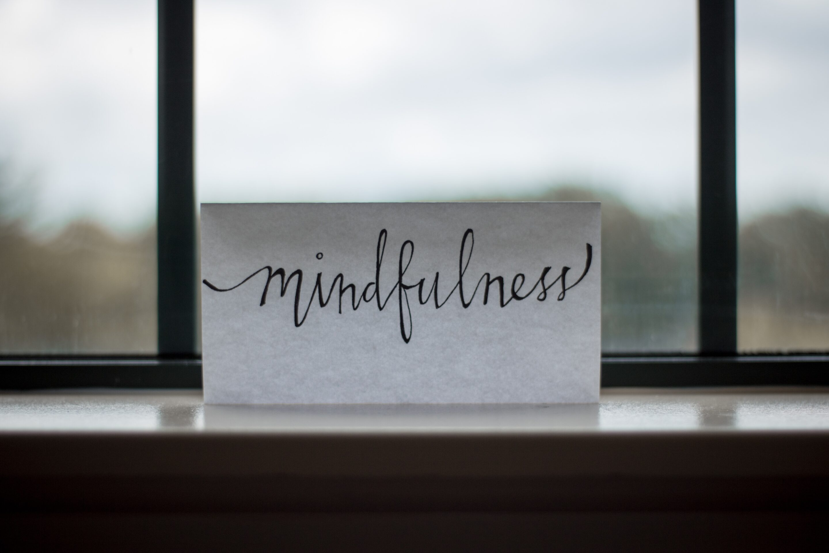 Mindfulness and being present in the moment are also critical to stress relief.
