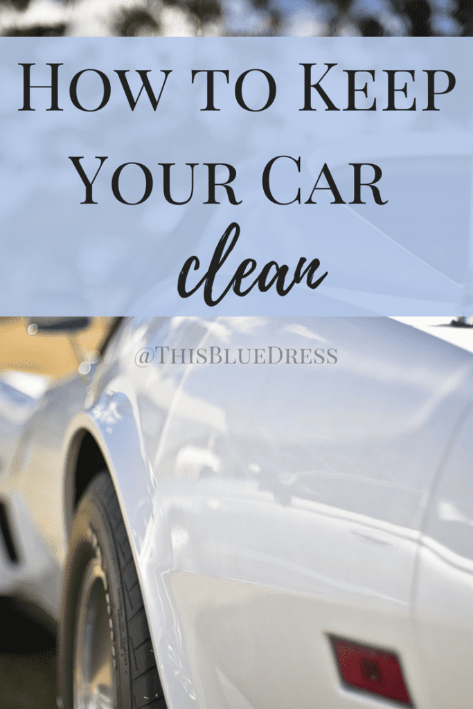 How to Keep Your Car Clean #cleancar #cars #cleanminivan #minivans