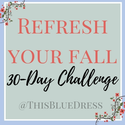 Refresh Your Fall: A 30-Day Minimalism Challenge