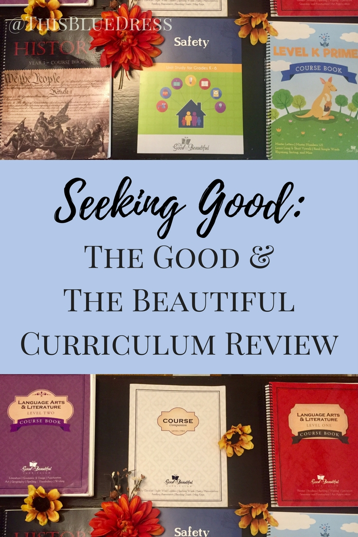 The Good & The Beautiful Curriculum Review