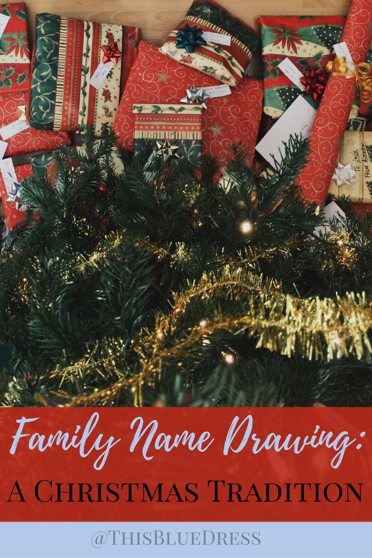 Family Name Drawing_ A Christmas Tradition