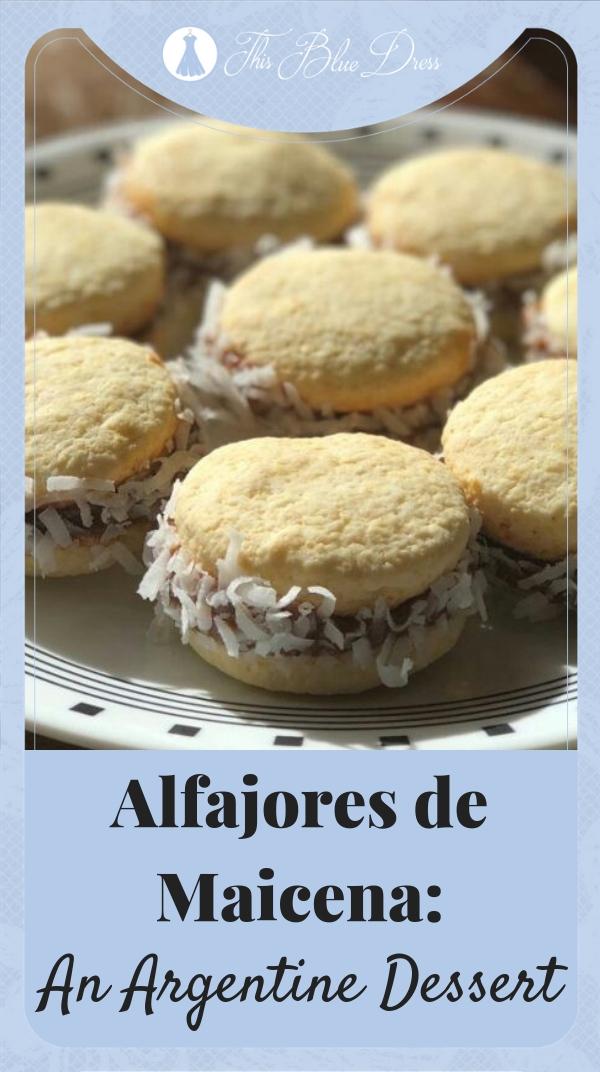 Alfajores de Maicena #argentina #desserts #missionary