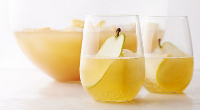 Sparkling Pear Punch by Tablespoon.com