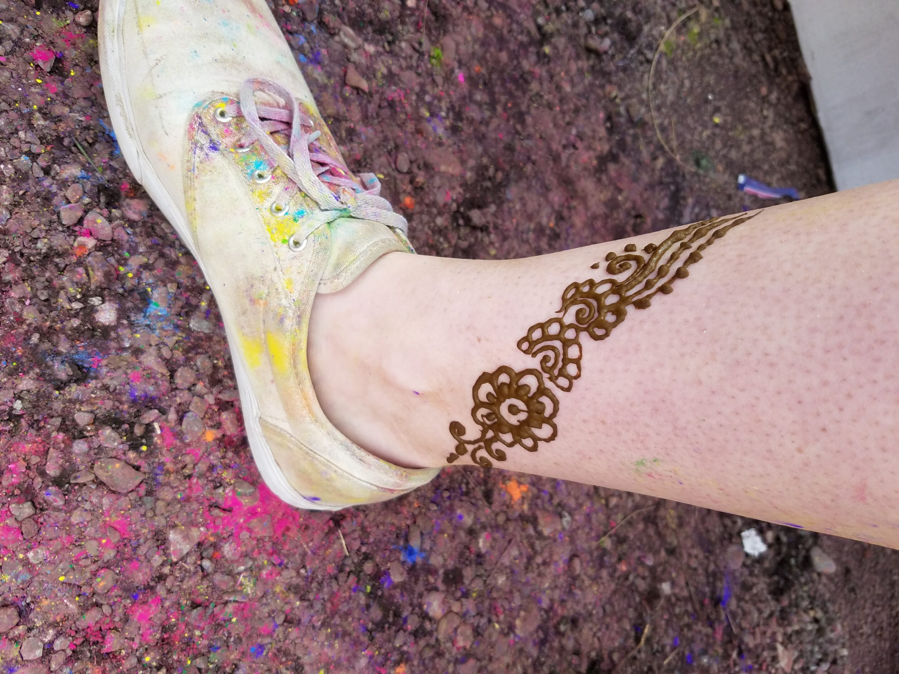 Henna 2 at the Festival of Colors