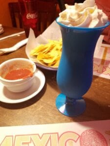 Our favorite part of Mi Ranchito--chips and salsa