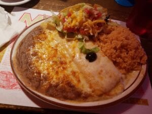 Combo plate at Mi Ranchito