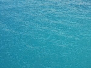 Beautiful blue Nassau water
