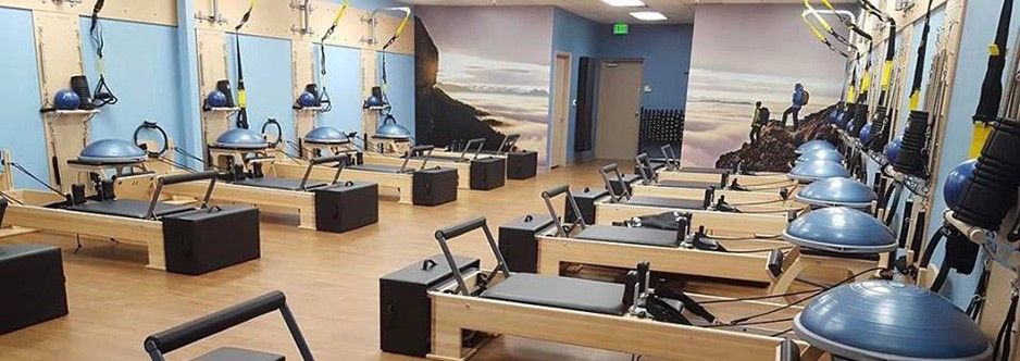 The gym at Club Pilates
