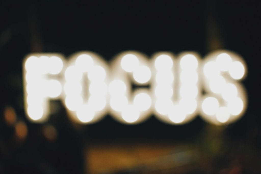 Focus can help you achieve your health goals