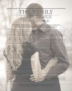 Mariah's beautiful personalized The Family: A Proclamation to the World from Custom Family Proclamations #familyproclamation #lds #customfamilyproclamations