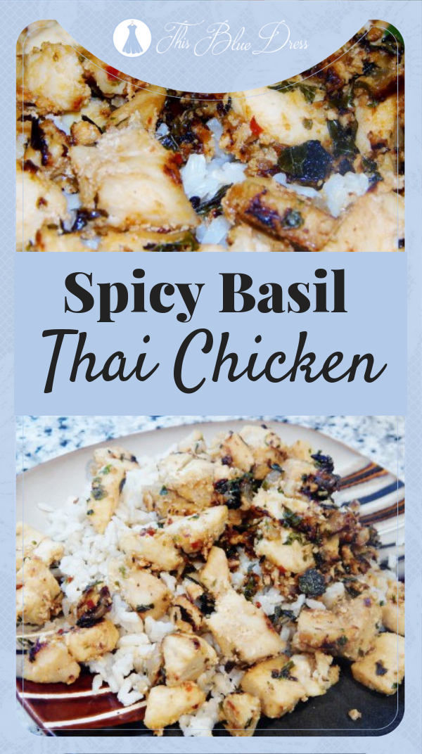 Spicy Basil Thai Chicken #chickenrecipes #chicken #dinner #recipes