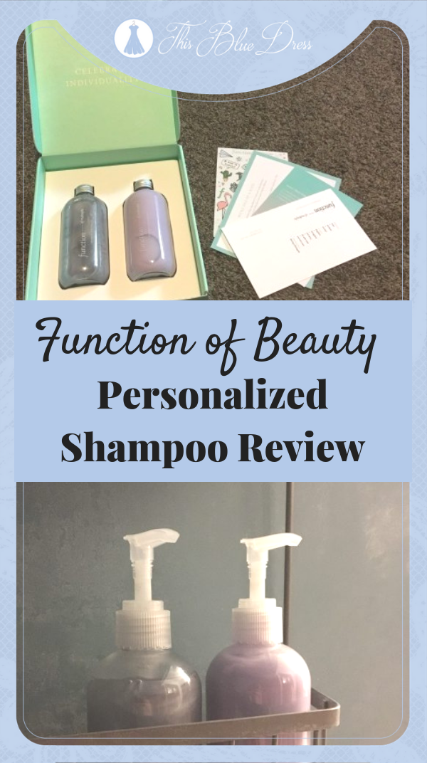 Function of Beauty Personalized Shampoo Review