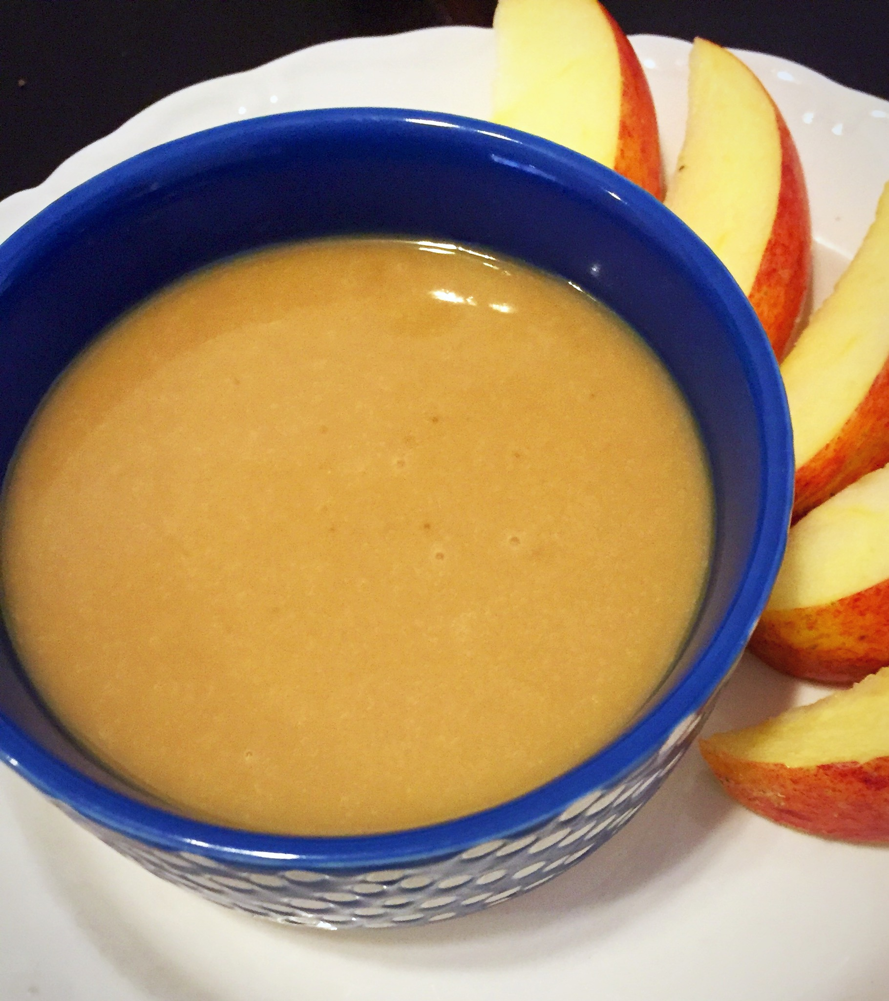 Amazing Caramel Dip is delicious with apples and other fruit!