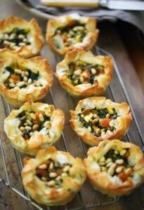 Phyllo Tartlets with Pumpkin from Mediterrasian
