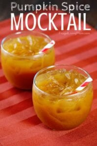 Pumpkin Spice Mocktails from Frugal Living Mom