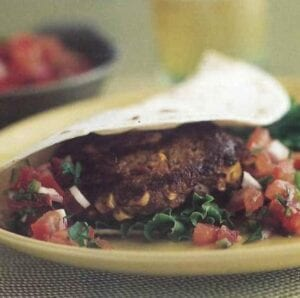 Southwestern Pumpkin Burgers from EatingWell