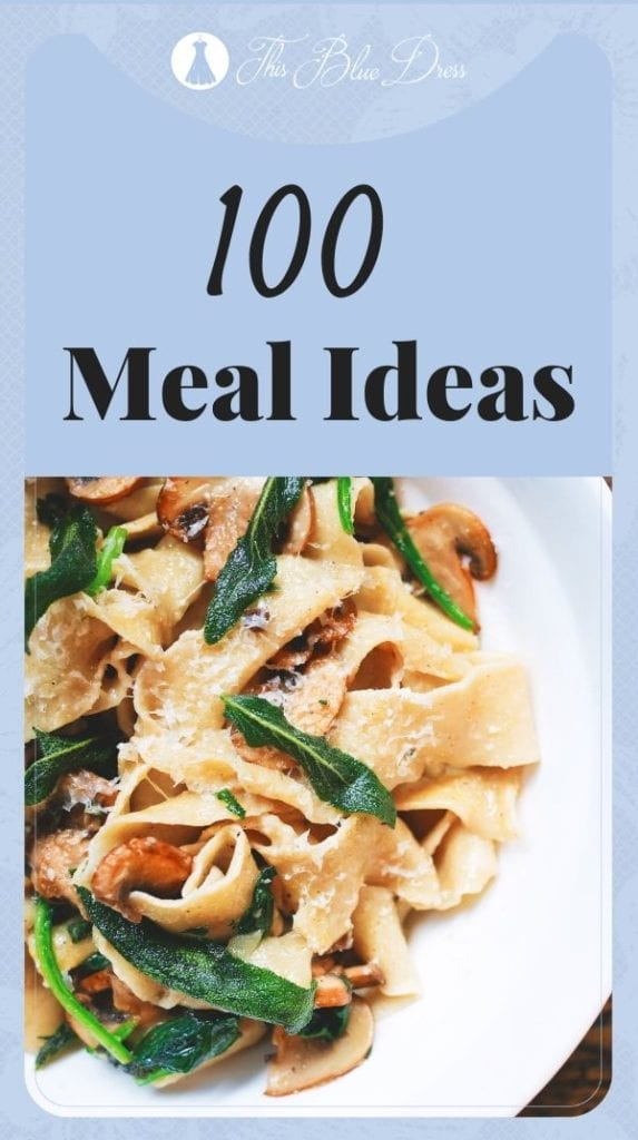 100 meal ideas