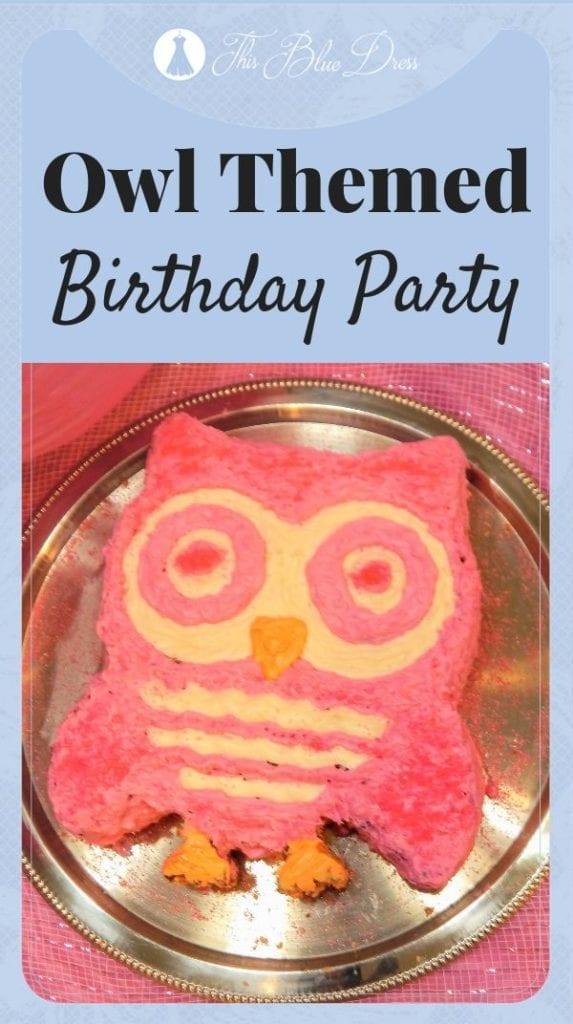 owl party pinterest pin