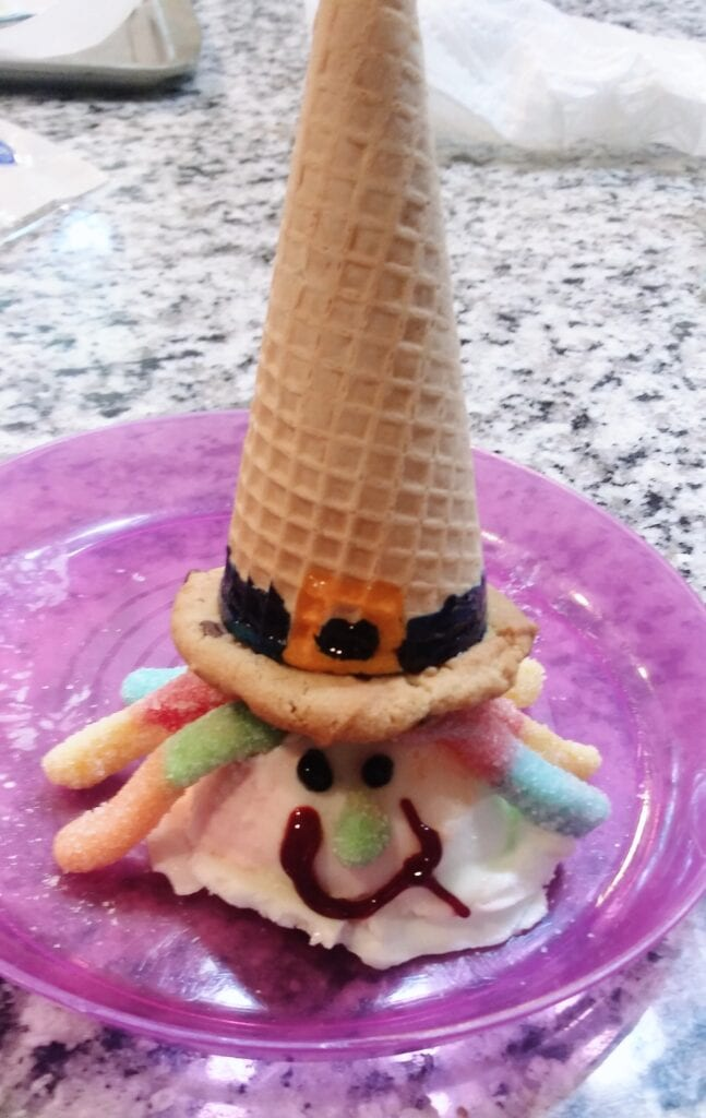 kid ice cream witch