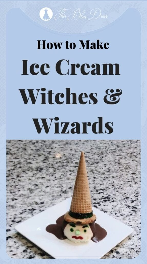 ice cream witch pin