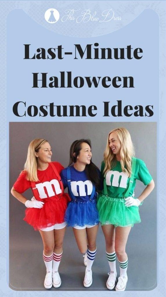 Last-Minute Halloween Costume Ideas PIN